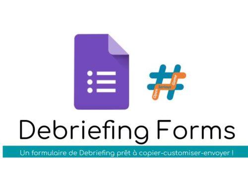#OSG 303 Debriefing Forms