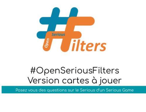 #OSG 301 #OpenSeriousFilters (Version cartes à jouer)