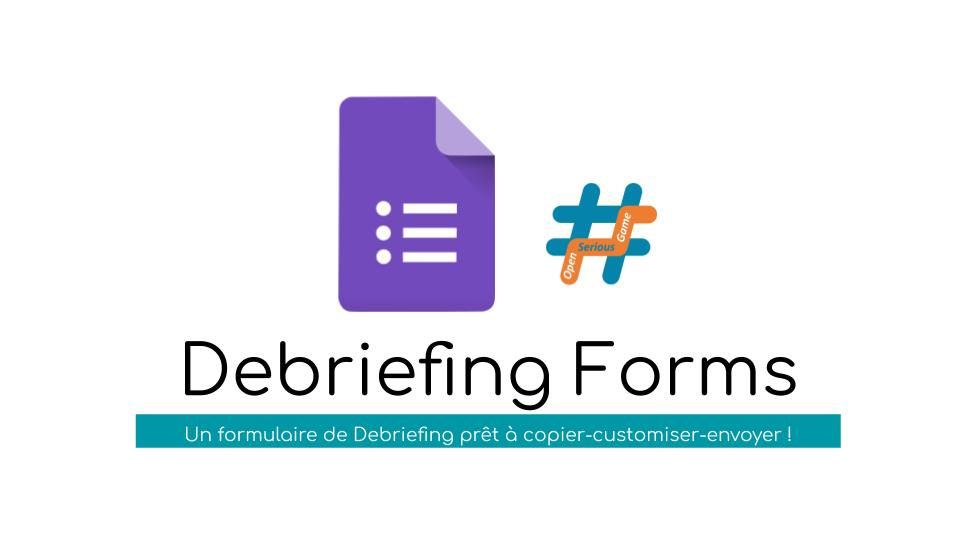 #OSG 303 Debriefing Forms