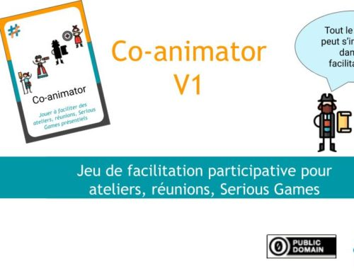 #OSG 501 Co-animator : le Jeu de facilitation participative