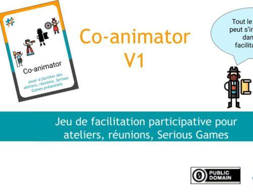 #OSG 501 Co-animator : le Jeu de facilitation participative