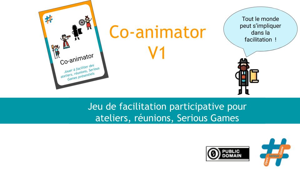 #OSG 401 Co-animator : le Jeu de facilitation participative