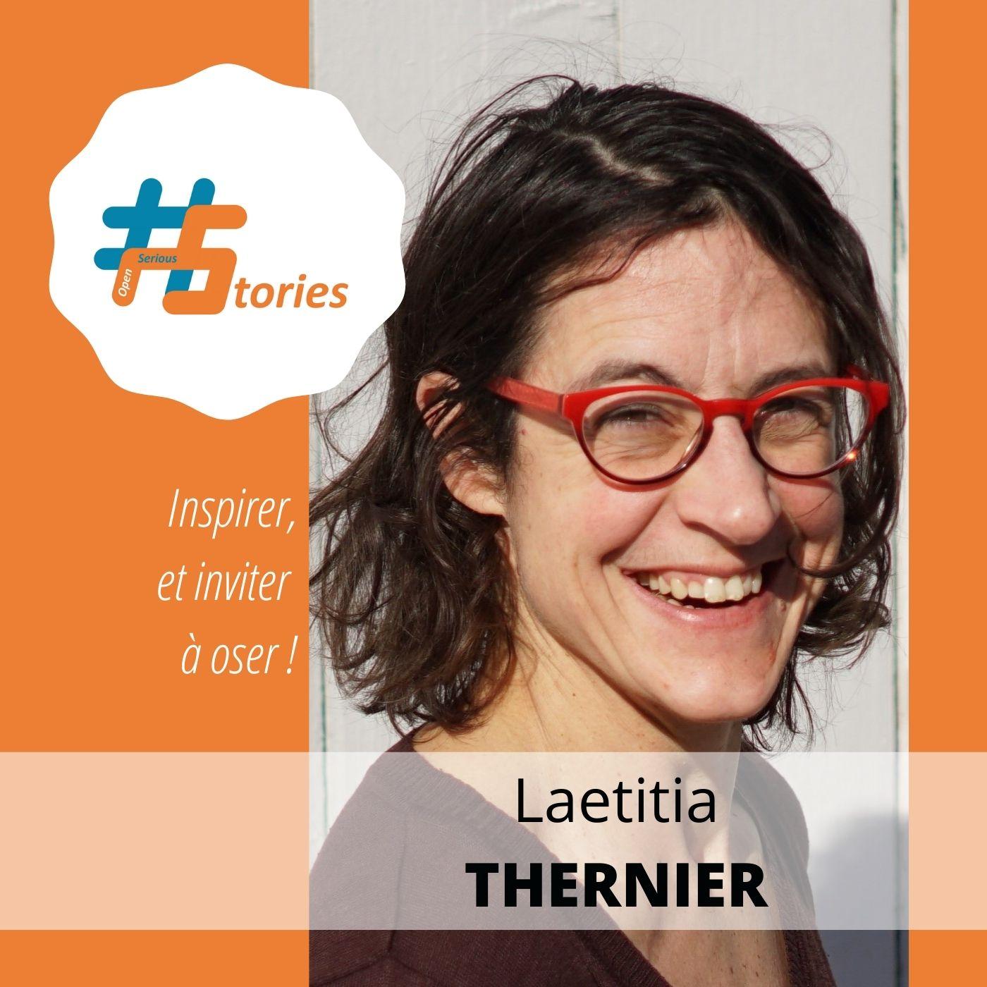 Le retour d'expérience d'une créatrice : Laetitia Thernier [Podcast – 12min]