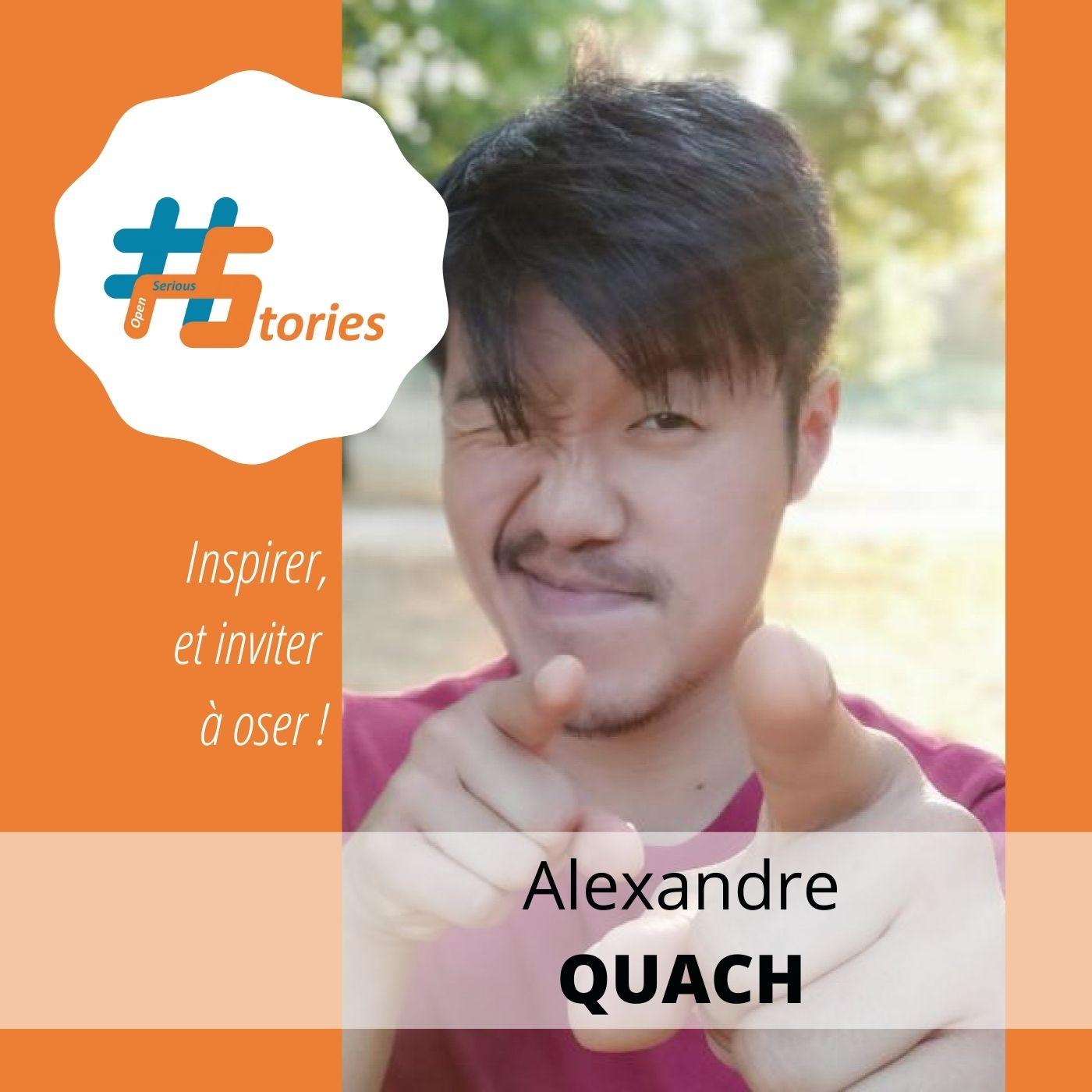 Le retour d'expérience de l'initiateur de #OpenSeriousGame : Alexandre Quach [Podcast – 21min]