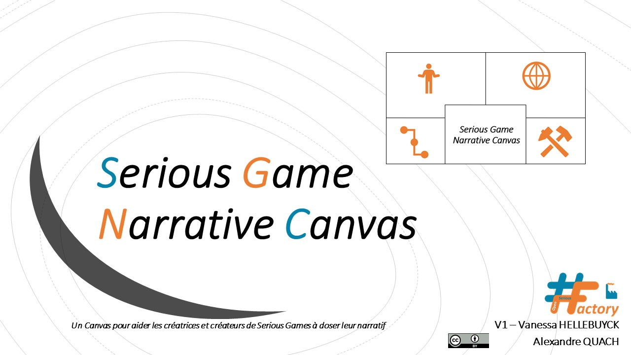 Serious Game Narrative Canvas