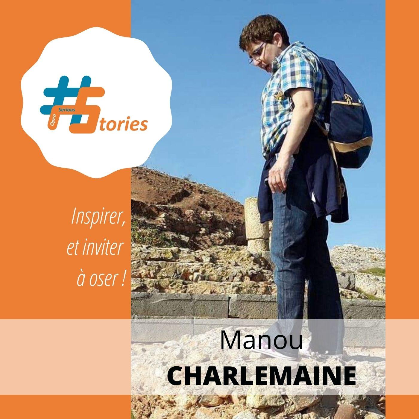 Le retour d'expérience d'une joueuse : Manou Charlemaine [Podcast – 11min]
