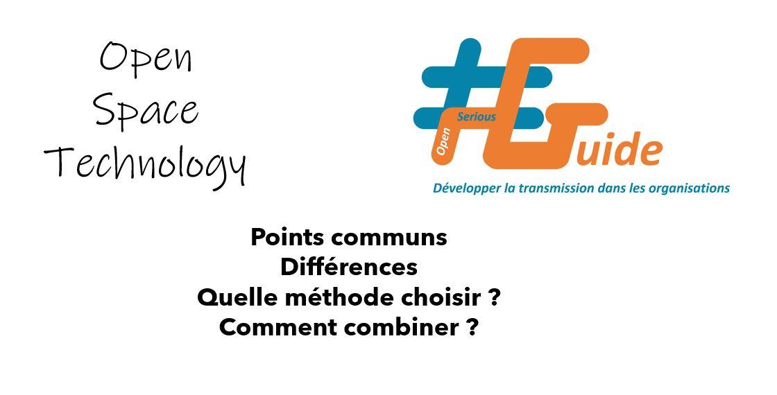 Méthodologie Forum Ouvert ou #OSG : Comparaison